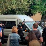 В Бресте при разгоне акции оппозиции милиция стреляла в воздух