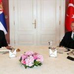 В Стамбуле прошли закрытые переговоры президентов Турции и Сербии