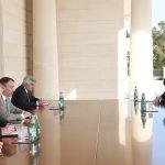 Ильхам Алиев встретился со спецпредставителем Евросоюза по Южному Кавказу