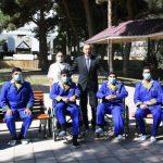 Президент Ильхам Алиев и Мехрибан Алиева встретились с ранеными военнослужащими