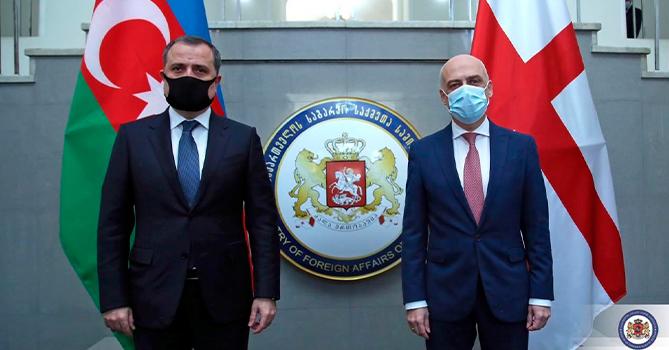 Стали известны детали встречи глав МИД Азербайджана и Грузии