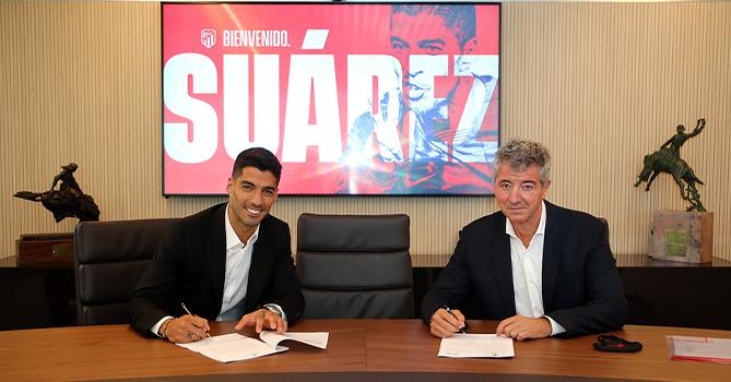 Суарес прошел медосмотр и подписал контракт с «Атлетико»
