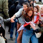Белорусская милиция отметила рост агрессивности протестующих