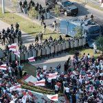 В Минске ОМОН разогнал марш студентов, есть задержанные