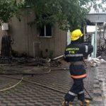 Армянский снаряд упал в Барде на жилой дом - ФОТО