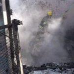 Выпущенный армянами снаряд вызвал пожар в жилом доме