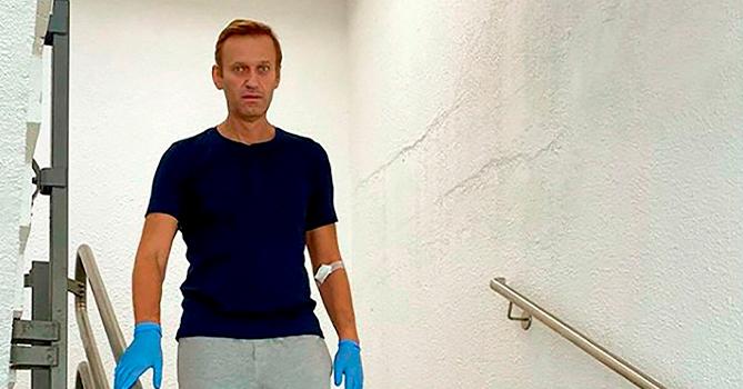 Навальный рассказал о встрече с Меркель