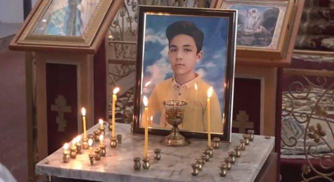 В церкви в Гяндже проходит панихида по 13-летнему Артуру, погибшему в результате армянского террора — ФОТО