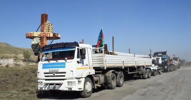 На освобожденных от оккупации территориях Азербайджана ведутся работы по электроснабжению стратегических объектов — ФОТО