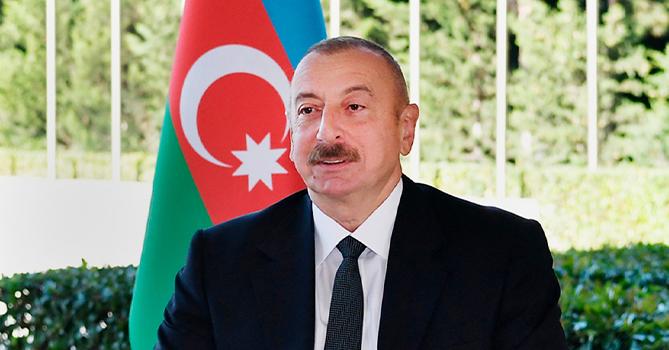 Потомки Джавад хана, Хуршудбану Натаван и Аман хана Нахчыванского поздравляют Президента Азербайджанской Республики Господина Ильхама Алиева