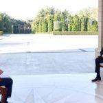 Ильхам Алиев: Мы каждый раз освобождаем новые земли. В ближайшее время будут новые заявления, это еще больше ослабит Армению