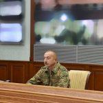 Под руководством Верховного главнокомандующего в Центральном командном пункте МО состоялось оперативное совещание