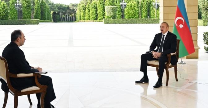 Ильхам Алиев дал интервью российскому агентству «Интерфакс»