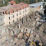 Поисково-спасательные работы в Гяндже завершены