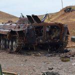 Армянские солдаты сбежали, оставив свои позиции