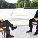 """Президент Ильхам Алиев дал интервью итальянской газете """"La Republica"""""""