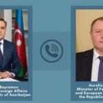 Состоялся телефонный разговор глав МИД Азербайджана и Молдовы