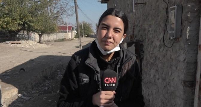 Фулья Озтюрк, освещавшая войну в Карабахе, заразилась коронавирусом