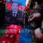Похоронен ставший вчера шехидом полковник Азербайджанской армии