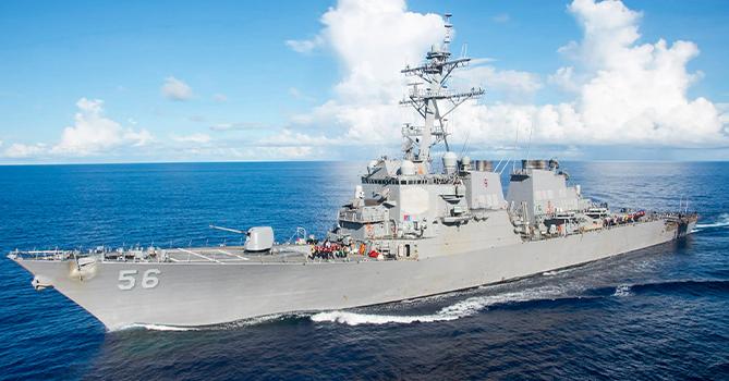 Седьмой флот США отверг обвинения в нарушении морской границы России