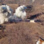 Армянские военные взорвали здание военной части, покидая Кяльбаджар - ВИДЕО