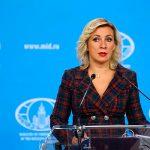 """Мария Захарова: """"Россия вносит существенный вклад в улучшении ситуации в Нагорном Карабахе"""""""