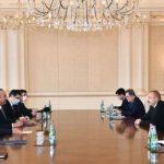 Президент Ильхам Алиев принял главу МИД и министра национальной обороны Турции