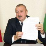 Ильхам Алиев: Данное заявление фактически означает военную капитуляцию Армении