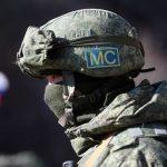 Минобороны РФ рассказало о контроле миротворцев за безопасностью в Карабахе