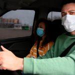 """МВД: """"Все находящиеся в машине должны пользоваться масками"""""""