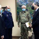 Официальные лица Азербайджана посетили посольство России
