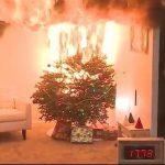 Пожароопасный праздник: новогодняя атрибутика часто не соответствует требованиям безопасности