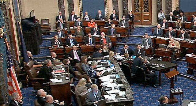 Демократы получили контроль над сенатом США