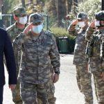 Хулуси Акар прибыл с инспекцией на границу с Сирией