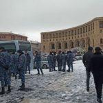 В Ереване задержали более 30 участников акций протеста