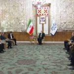Джейхун Байрамов провел встречу с председателем парламента Ирана