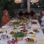Состоялся совместный ужин президентов Азербайджана и Турции