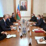 Джейхун Байрамов встретился с представителями ряда международных организаций