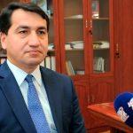 """Хикмет Гаджиев: """"Армения на государственном уровне осуществила политику вандализма"""""""