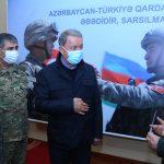 В Министерстве обороны прошло мероприятие с участием глав оборонных ведомств Азербайджана и Турции