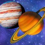 Великое соединение Юпитера и Сатурна можно будет наблюдать 21 декабря