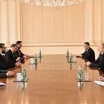 Президент Ильхам Алиев принял советника по нацбезопасности и главу Администрации президента Афганистана