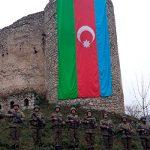 Память шехидов Отечественной войны была почтена у Шушинской крепости