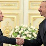Алиев поздравил Путина с открытием турецко-российского центра по мониторингу в Карабахе