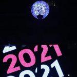 На Таймс-сквер встреча Нового года прошла почти без зрителей