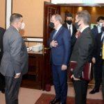 Джейхун Байрамов встретился с главой Организации пограничных работ Пакистана