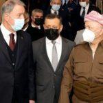 За чем Хулуси Акар в Иракский Курдистан ездил?