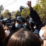 В Армении сторонники оппозиции проводят очередную акцию протеста