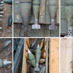 В Агдамском районе обнаружено большое количество боеприпасов
