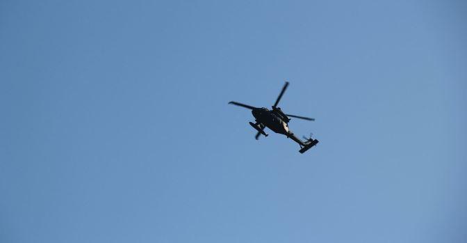 В Нью-Йорке разбился военный вертолет